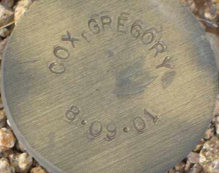 COX, GREGORY - Maricopa County, Arizona | GREGORY COX - Arizona Gravestone Photos