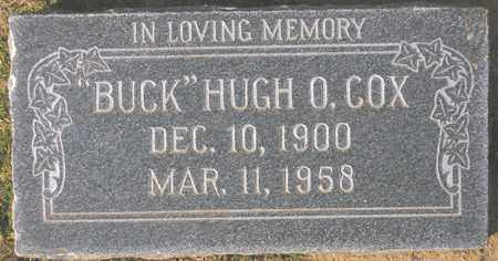 COX, HUGH O. 'BUCK' - Maricopa County, Arizona | HUGH O. 'BUCK' COX - Arizona Gravestone Photos