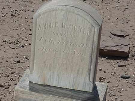 COYLE, ANNIE B - Maricopa County, Arizona   ANNIE B COYLE - Arizona Gravestone Photos