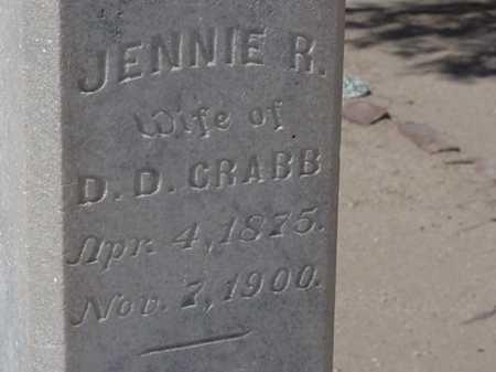 CRABB, JENNIE - Maricopa County, Arizona | JENNIE CRABB - Arizona Gravestone Photos
