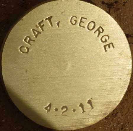 CRAFT, GEORGE - Maricopa County, Arizona   GEORGE CRAFT - Arizona Gravestone Photos