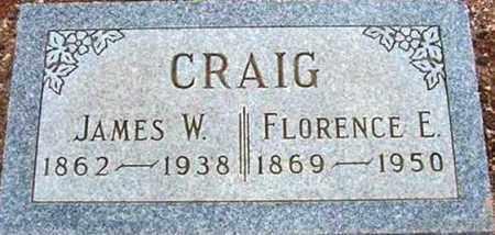 CRAIG, FLORENCE E. - Maricopa County, Arizona | FLORENCE E. CRAIG - Arizona Gravestone Photos