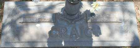 CRAIG, FLORENCE M. - Maricopa County, Arizona   FLORENCE M. CRAIG - Arizona Gravestone Photos