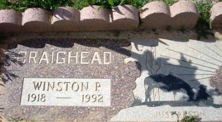 CRAIGHEAD, WINSTON P. - Maricopa County, Arizona | WINSTON P. CRAIGHEAD - Arizona Gravestone Photos