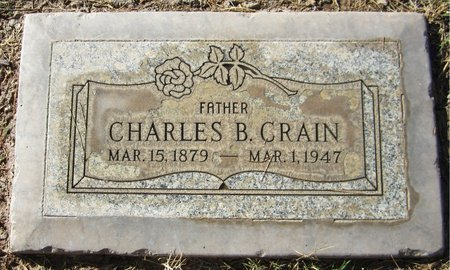 CRAIN, CHARLES B. - Maricopa County, Arizona | CHARLES B. CRAIN - Arizona Gravestone Photos