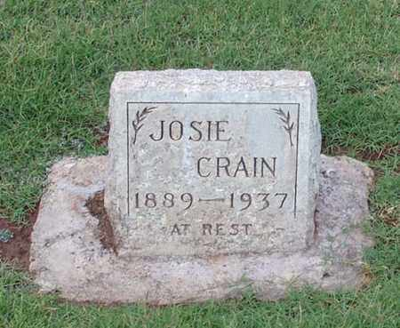 CRAIN, JOSIE - Maricopa County, Arizona | JOSIE CRAIN - Arizona Gravestone Photos
