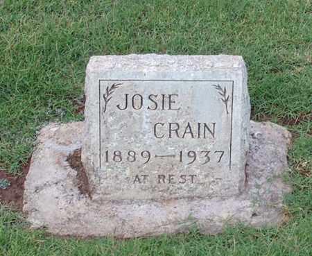 DIXON CRAIN, JOSIE - Maricopa County, Arizona | JOSIE DIXON CRAIN - Arizona Gravestone Photos
