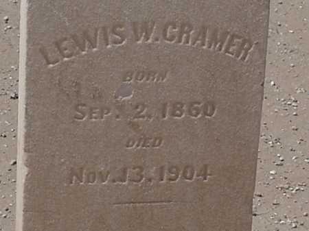 CRAMER, LEWIS W - Maricopa County, Arizona | LEWIS W CRAMER - Arizona Gravestone Photos