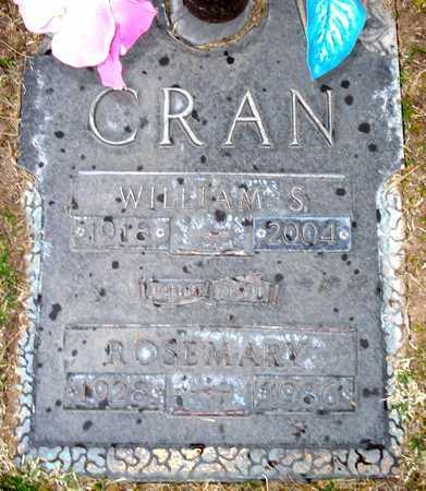 CRAN, WILLIAM S. - Maricopa County, Arizona | WILLIAM S. CRAN - Arizona Gravestone Photos
