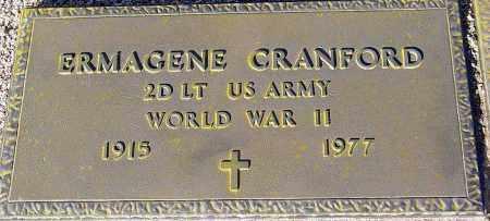 CRANFORD, ERMAGENE - Maricopa County, Arizona | ERMAGENE CRANFORD - Arizona Gravestone Photos