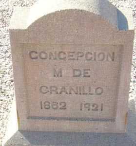 CRANILLO, CONCEPCION M. - Maricopa County, Arizona   CONCEPCION M. CRANILLO - Arizona Gravestone Photos