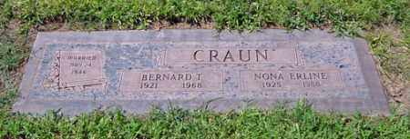 CRAUN, NONA ERLINE - Maricopa County, Arizona | NONA ERLINE CRAUN - Arizona Gravestone Photos