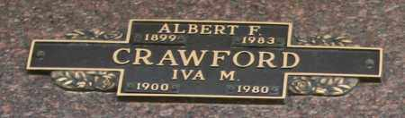 CRAWFORD, IVA M - Maricopa County, Arizona | IVA M CRAWFORD - Arizona Gravestone Photos