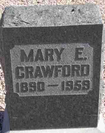 CRAWFORD, MARY E. - Maricopa County, Arizona | MARY E. CRAWFORD - Arizona Gravestone Photos
