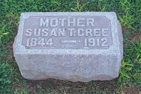 CREE, SUSAN T. - Maricopa County, Arizona   SUSAN T. CREE - Arizona Gravestone Photos