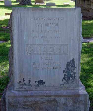 CREECH, HAZEL - Maricopa County, Arizona   HAZEL CREECH - Arizona Gravestone Photos