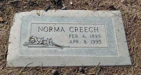 CREECH, NORMA - Maricopa County, Arizona | NORMA CREECH - Arizona Gravestone Photos