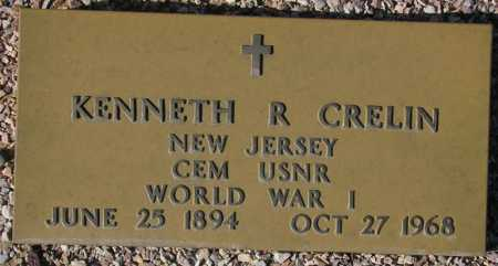CRELIN, KENNETH R. - Maricopa County, Arizona | KENNETH R. CRELIN - Arizona Gravestone Photos
