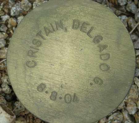 CRISTAIN, DELGADO G. - Maricopa County, Arizona | DELGADO G. CRISTAIN - Arizona Gravestone Photos