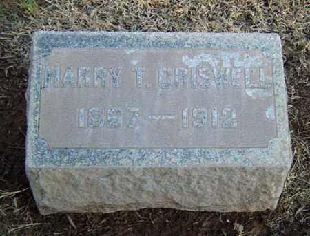 CRISWELL, HARRY T. - Maricopa County, Arizona | HARRY T. CRISWELL - Arizona Gravestone Photos