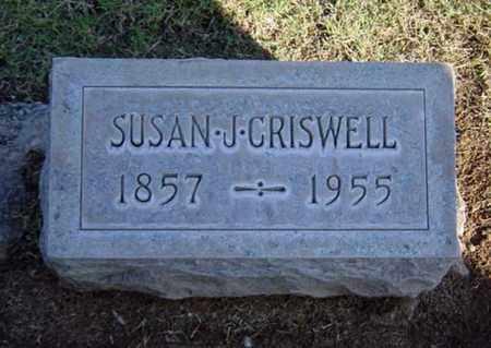 CRISWELL, SUSAN J. - Maricopa County, Arizona | SUSAN J. CRISWELL - Arizona Gravestone Photos