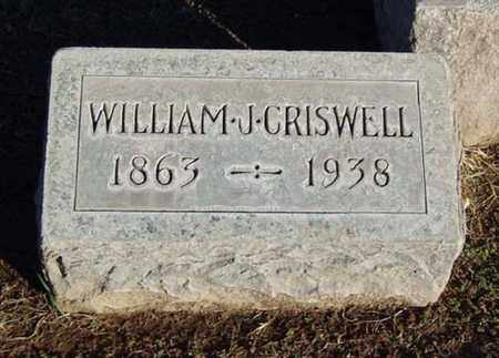 CRISWELL, WILLIAM J. - Maricopa County, Arizona | WILLIAM J. CRISWELL - Arizona Gravestone Photos