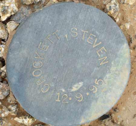 CROCKETT, STEVEN - Maricopa County, Arizona   STEVEN CROCKETT - Arizona Gravestone Photos