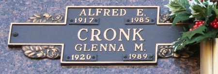 CRONK, ALFRED E - Maricopa County, Arizona | ALFRED E CRONK - Arizona Gravestone Photos
