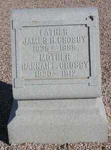 CROSBY, JAMES H. - Maricopa County, Arizona | JAMES H. CROSBY - Arizona Gravestone Photos