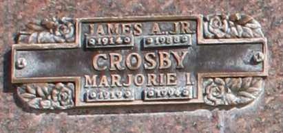 CROSBY, JAMES A, JR. - Maricopa County, Arizona | JAMES A, JR. CROSBY - Arizona Gravestone Photos