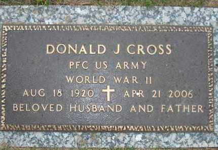 CROSS, DONALD J. - Maricopa County, Arizona | DONALD J. CROSS - Arizona Gravestone Photos