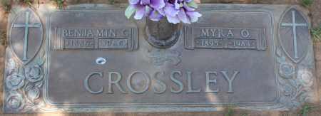 CROSSLEY, MYRA O. - Maricopa County, Arizona | MYRA O. CROSSLEY - Arizona Gravestone Photos