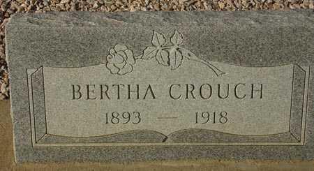 CROUCH, BERTHA - Maricopa County, Arizona | BERTHA CROUCH - Arizona Gravestone Photos