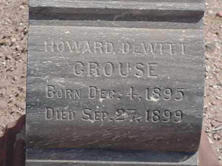 CROUSE, HOWARD DEWITT - Maricopa County, Arizona | HOWARD DEWITT CROUSE - Arizona Gravestone Photos