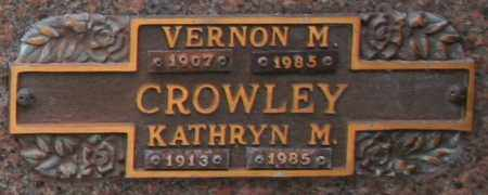 CROWLEY, VERNON M - Maricopa County, Arizona | VERNON M CROWLEY - Arizona Gravestone Photos