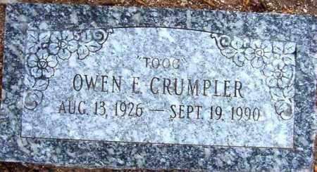 CRUMPLER, OWEN E. (TOOG) - Maricopa County, Arizona | OWEN E. (TOOG) CRUMPLER - Arizona Gravestone Photos