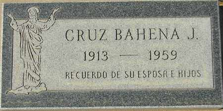 CRUZ, BAHENA J. - Maricopa County, Arizona | BAHENA J. CRUZ - Arizona Gravestone Photos