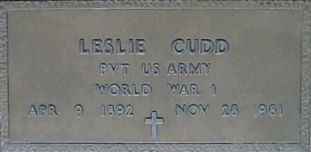 CUDD, LESLIE - Maricopa County, Arizona   LESLIE CUDD - Arizona Gravestone Photos