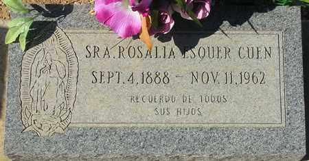 ESQUER CUEN, ROSALIA - Maricopa County, Arizona | ROSALIA ESQUER CUEN - Arizona Gravestone Photos