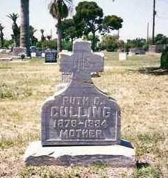 CULLING, RUTH - Maricopa County, Arizona | RUTH CULLING - Arizona Gravestone Photos