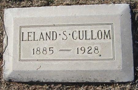 CULLOM, LELAND S - Maricopa County, Arizona | LELAND S CULLOM - Arizona Gravestone Photos