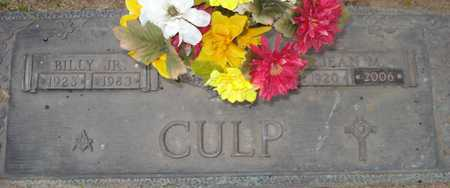 CULP, BILLY JR. - Maricopa County, Arizona | BILLY JR. CULP - Arizona Gravestone Photos