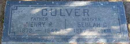 CULVER, BEULAH G. - Maricopa County, Arizona | BEULAH G. CULVER - Arizona Gravestone Photos