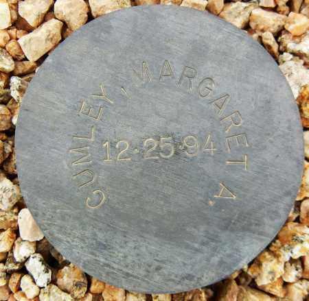CUMLEY, MARGARET A. - Maricopa County, Arizona | MARGARET A. CUMLEY - Arizona Gravestone Photos