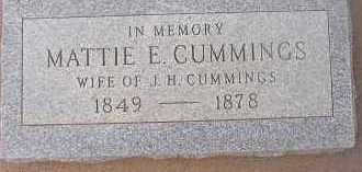 ST CLAIR CUMMINGS, ALICE [MATTIE] E. - Maricopa County, Arizona | ALICE [MATTIE] E. ST CLAIR CUMMINGS - Arizona Gravestone Photos