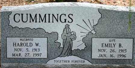CUMMINGS, HAROLD W. - Maricopa County, Arizona | HAROLD W. CUMMINGS - Arizona Gravestone Photos