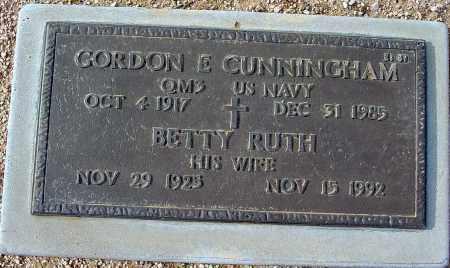 CUNNINGHAM, BETTY RUTH - Maricopa County, Arizona | BETTY RUTH CUNNINGHAM - Arizona Gravestone Photos