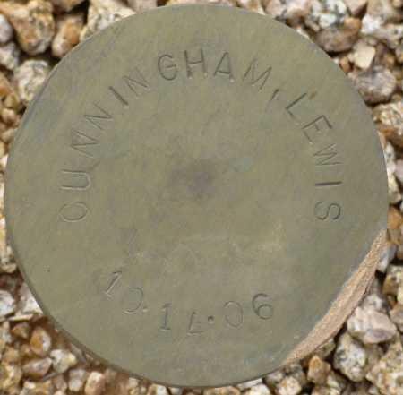 CUNNINGHAM, LEWIS - Maricopa County, Arizona | LEWIS CUNNINGHAM - Arizona Gravestone Photos