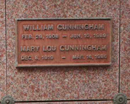CUNNINGHAM, MARY LOU - Maricopa County, Arizona | MARY LOU CUNNINGHAM - Arizona Gravestone Photos