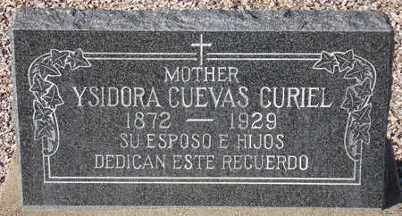 CURIEL, YSIDORA CUEVAS - Maricopa County, Arizona | YSIDORA CUEVAS CURIEL - Arizona Gravestone Photos